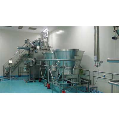 RAPID MIXER GRANULATOR PILOT MODEL